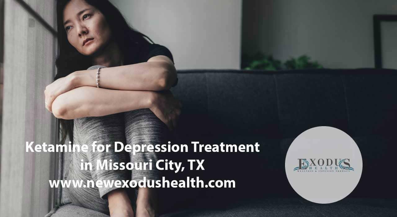 ketamine for depression treatment in Missouri City, TX